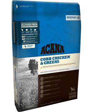 ACANA HERITAGE COBB CHICKEN & GREENS (Adult)