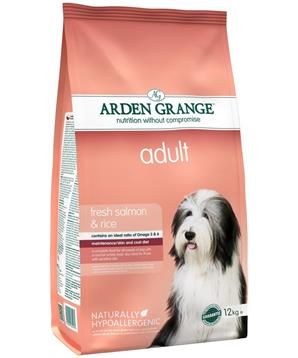 Arden Grange Adult fresh Salmon & Rice