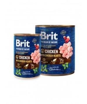 Brit Premium Dog by Nature konz Chicken & Hearts