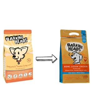BARKING HEADS Bowl Lickin' Chicken (Small Breed)