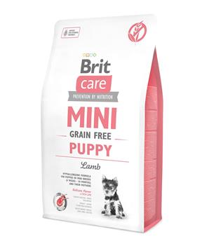 Brit Care Dog Mini Grain Free Puppy Lamb