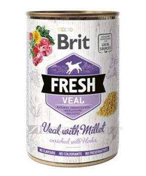 Brit Dog Fresh konz Veal with Millet