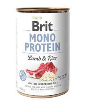 Brit Dog konz Mono Protein Lamb & Brown Rice