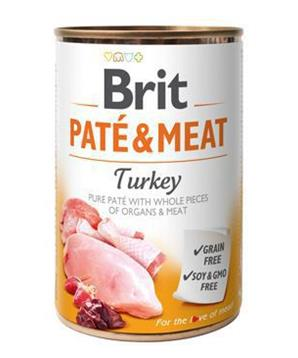 Brit Dog konz Paté & Meat Turkey
