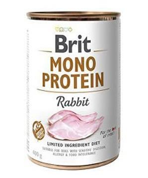 Brit Dog konz Mono Protein Rabbit