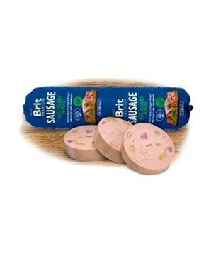 Brit Sausage Turkey & Pea New
