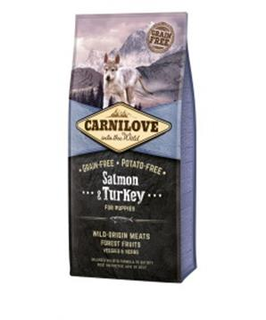 Carnilove Dog Salmon & Turkey for Puppies