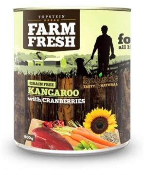 Farm Fresh Kangaroo with Cranberries