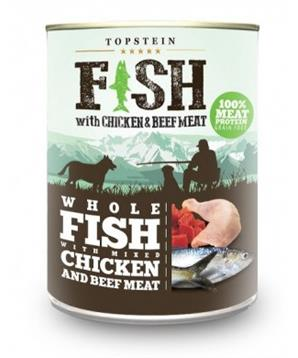 Farm Fresh Fish with Chicken & Beef Meat