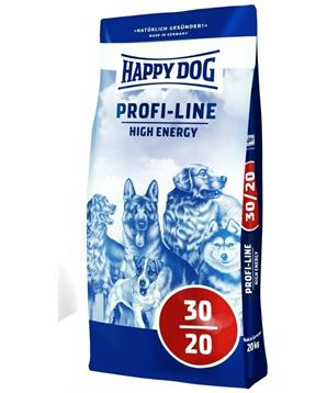 HAPPY DOG Krokette 30/20 High Energy