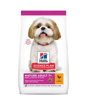 Hill's Can.Dry SP Mature Adult7+Small&Mini Chicken