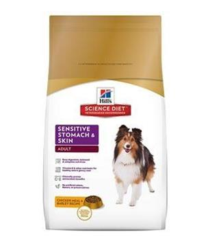 Hill's Canine Dry Sensitive Stomach Skin s kuřetem