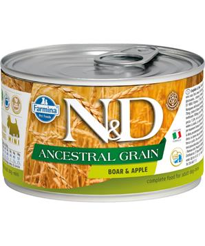 N&D DOG LOW GRAIN Adult Boar & Apple Mini