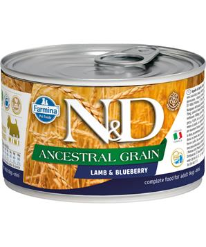 N&D DOG LOW GRAIN Adult Lamb & Blueberry Mini
