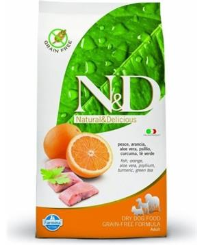 N&D Grain Free DOG Adult Fish & Orange