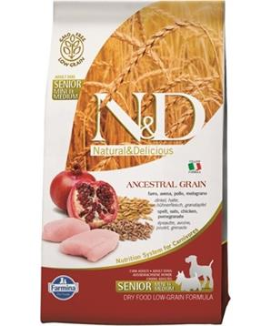 N&D LG DOG Senior Chicken&Pomegr