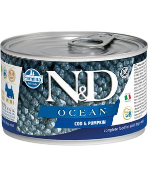 N&D DOG OCEAN Adult Codfish & Pumpkin Mini