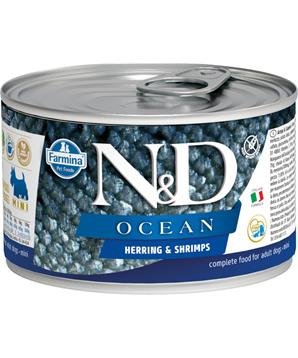 N&D DOG OCEAN Adult Herring & Shrimps Mini