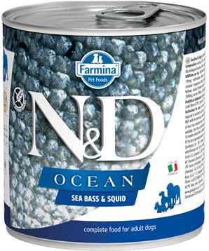 N&D DOG OCEAN Adult Sea Bass & Squid