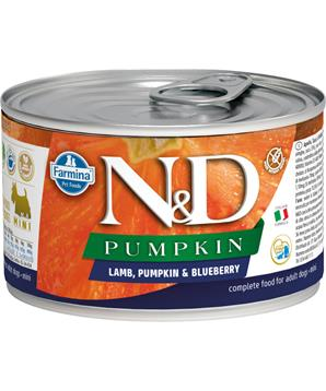 N&D DOG PUMPKIN Adult Lamb & Blueberry Mini