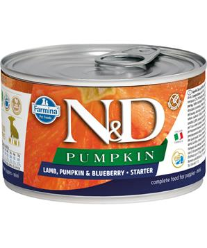 N&D DOG PUMPKIN Puppy Lamb & Blueberry Mini