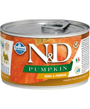 N&D DOG PUMPKIN Adult Quail & Pumpkin Mini