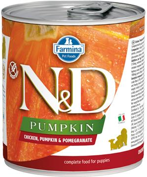 N&D DOG PUMPKIN Puppy Chicken & Pomegranate