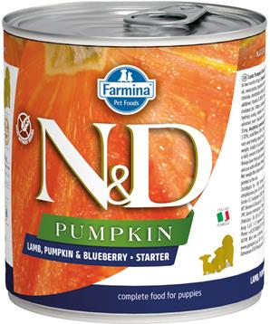 N&D DOG PUMPKIN Starter Lamb & Blueberry
