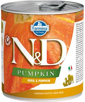N&D DOG PUMPKIN Adult Quail & Pumpkin