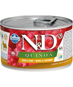 N&D DOG QUINOA Quail & Coconut Mini