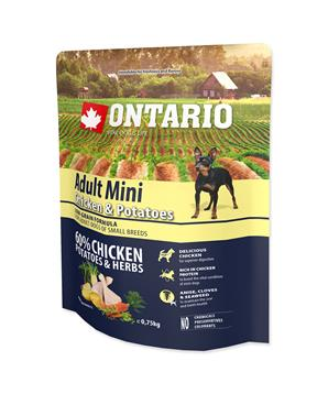 ONTARIO Dog Adult Mini Chicken & Potatoes & Herbs