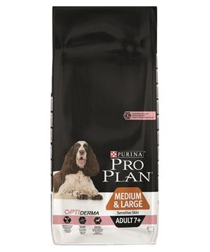 PRO PLAN Dog Adult Medium&Large 7+ Sens. Skin