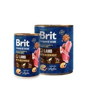Brit Premium Dog by Nature konz Lamb with Buckwheat
