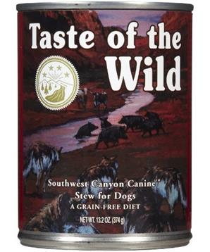 Taste of the Wild konzerva Southwest Canyon