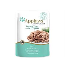 Kapsička APPLAWS cat pouch tuna wholemeat in jelly