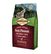 Carnilove Duck & Pheasant for Adult Cats – Hairball Control