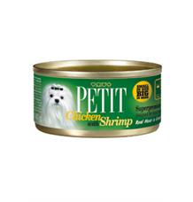 Petit Canned Chicken with Shrimp