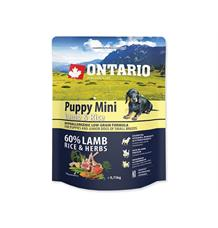 ONTARIO Puppy Mini Lamb & Rice