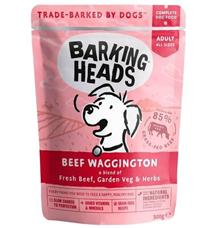 Kapsička BARKING HEADS Beef Waggington