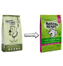BARKING HEADS Chop Lickin' Lamb (Large Breed)