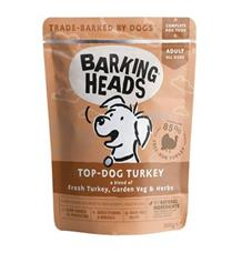 BARKING HEADS Top Dog Turkey kapsička