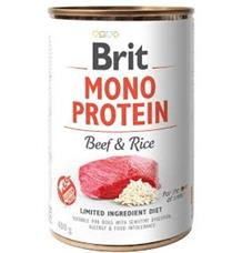 Brit Dog konz Mono Protein Beef & Brown Rice