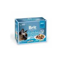 Brit Premium Cat D Fillets in Gravy Family Plate