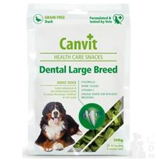 Canvit Snacks Dental Large Breed-Duck