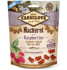 Carnilove Dog Crunchy Snack Mackerel&Raspberries