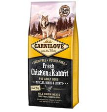 Carnilove Dog Fresh Chicken & Rabbit for Adult