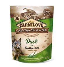 Carnilove Dog Pouch Paté Duck & Timothy Grass