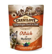 Carnilove Dog Pouch Paté Ostrich & Blackberries
