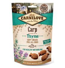 Carnilove Dog Semi Moist Snack Carp&Thyme