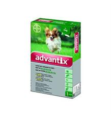Advantix Spot On pro psy - do 4 kg